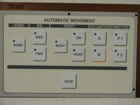Toshiba GCA-7200 Automatic Movement Switch Panel