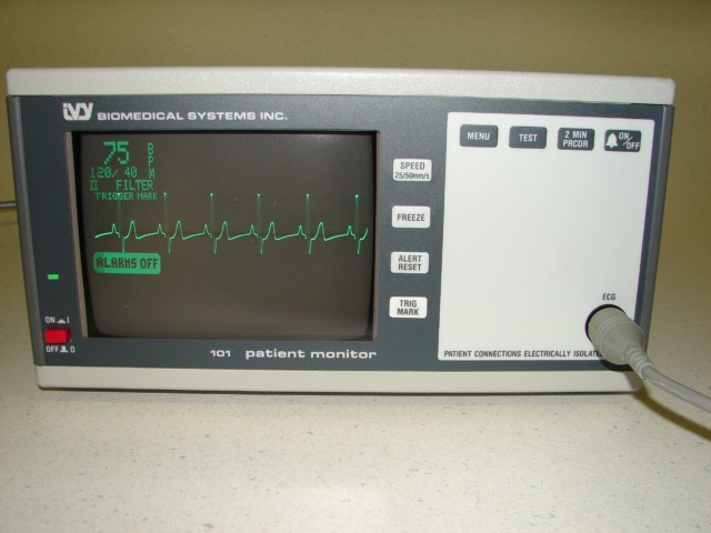 IVY Patient Monitor w/ECG Trigger Option